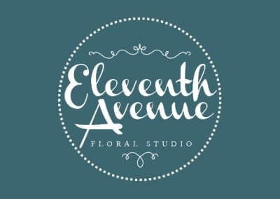 Eleventh Avenue Floral Website and Logo